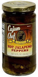 hot jalapeno peppers Cajun Chef Nutrition info