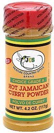 hot jamaican curry powder choice grade a Jcs Reggae Country Style Brand Nutrition info