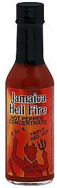 hot pepper concentrate Jamaica Hell Fire Nutrition info