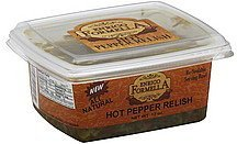 hot pepper relish Enrico Formella Nutrition info