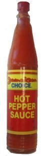 hot pepper sauce Jamaican Choice Nutrition info