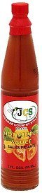 hot pepper sauce Jcs Reggae Country Style Brand Nutrition info