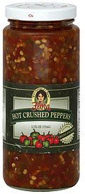 hot peppers crushed Flora Foods Nutrition info