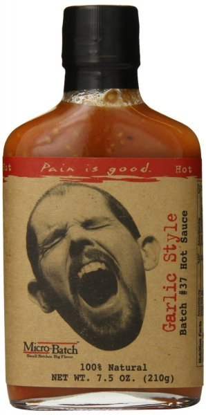 hot sauce garlic style batch 37 Pain is Good Nutrition info