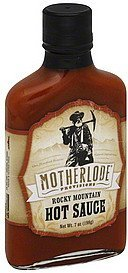 hot sauce rocky mountain, moderate Motherlode Provisions Nutrition info