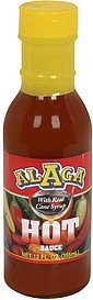 hot sauce with real cane syrup Alaga Nutrition info