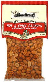 hot & spicy peanuts Muncheros Nutrition info