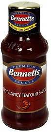 hot & spicy seafood sauce jalapeno Bennetts Nutrition info