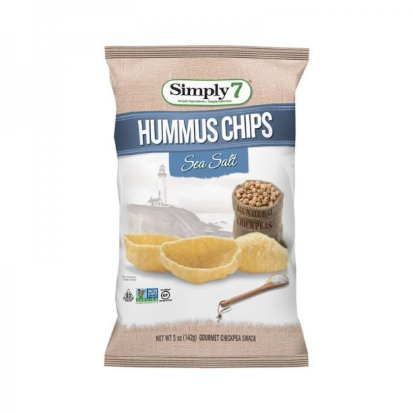 hummus chips sea salt Simply 7 Nutrition info