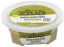 hummus hatch green chili Zilks Nutrition info