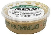 hummus toasted sesame King Harvest Nutrition info