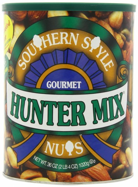 hunter mix southern style gourmet nuts Squirrel Brand Nutrition info