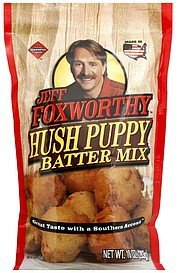 hush puppy batter mix Jeff Foxworthy Nutrition info