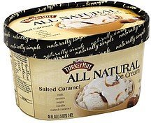 ice cream all natural, salted caramel Turkey Hill Nutrition info
