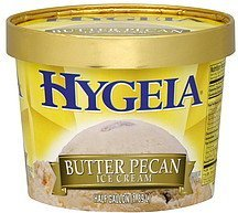 ice cream butter pecan Hygeia Nutrition info