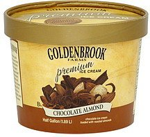 ice cream chocolate almond Goldenbrook Farms Nutrition info