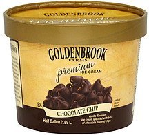 ice cream chocolate chip Goldenbrook Farms Nutrition info