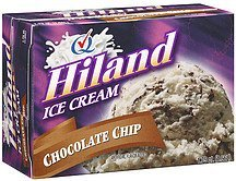 ice cream chocolate chip Hiland Nutrition info