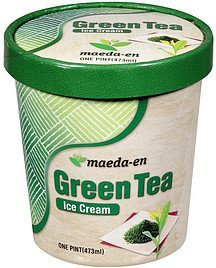 ice cream green tea Maeda-en Nutrition info