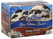 ice cream light, bunny tracks Blue Bunny Nutrition info