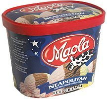 ice cream neapolitan Maola Nutrition info
