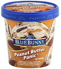 ice cream peanut butter panic Blue Bunny Nutrition info