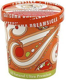 ice cream satsuma dreamsicle New Orleans Ice Cream Nutrition info