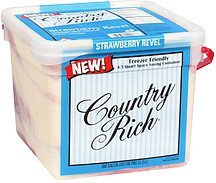 ice cream strawberry revel light Country Rich Nutrition info