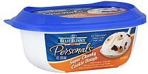 ice cream super chunky cookie dough Blue Bunny Nutrition info