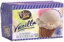 ice cream vanilla Best Yet Nutrition info