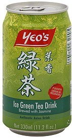 ice green tea drink brewed with jasmine Yeos Nutrition info