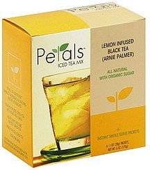 iced tea mix lemon infused black Petals Nutrition info