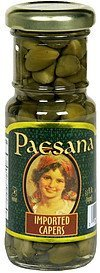 imported capers Paesana Nutrition info