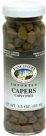 imported capers Fanci Food Nutrition info