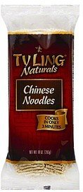 imported chinese noodles Ty Ling Nutrition info