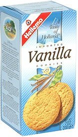 imported cookies vanilla Hellema Nutrition info