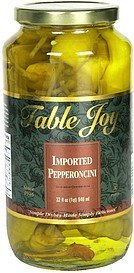 imported pepperoncini Table Joy Nutrition info