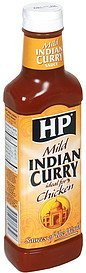 indian curry sauce mild Hp Nutrition info