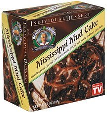 individual dessert mississippi mud cake Beauty Gourmet Nutrition info