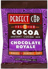 instant cocoa mix chocolate royale Perfect Cup Nutrition info
