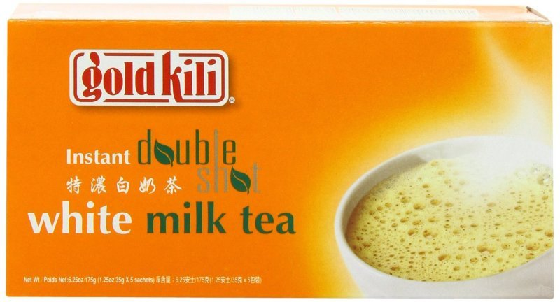 instant double shot white milk tea Gold Kili Nutrition info