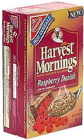 instant multigrain hot cereal raspberry danish with real raspberries Harvest Mornings Nutrition info