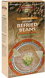 instant refried beans pinto bean Taste Adventure Nutrition info