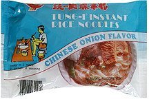 instant rice noodles chinese onion flavor Tung-I Nutrition info