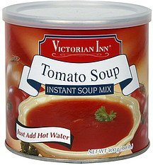 instant soup mix tomato soup Victorian Inn Nutrition info
