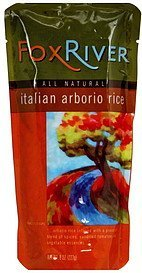 italian arborio rice Fox River Nutrition info