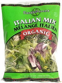 italian mix Earth Greens Nutrition info