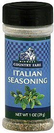 italian seasoning Midwest Country Fare Nutrition info