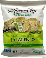 jalapeno corn chips The Better Chip Nutrition info