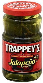 jalapeno peppers hot Trappeys Nutrition info